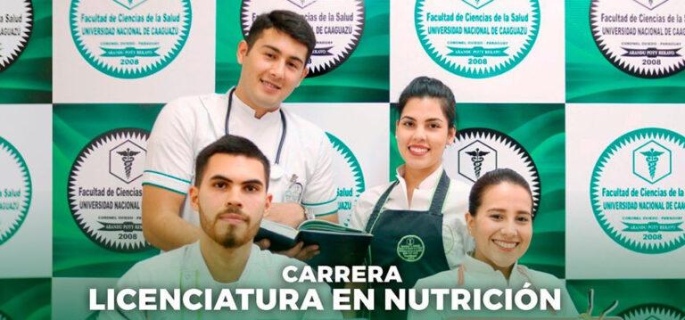 Carrera de Licenciatura en Nutrición